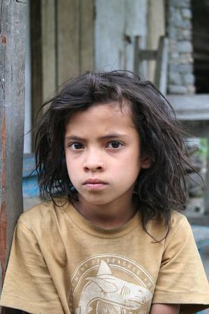 Гималайская девочка